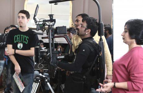 Movie shoot